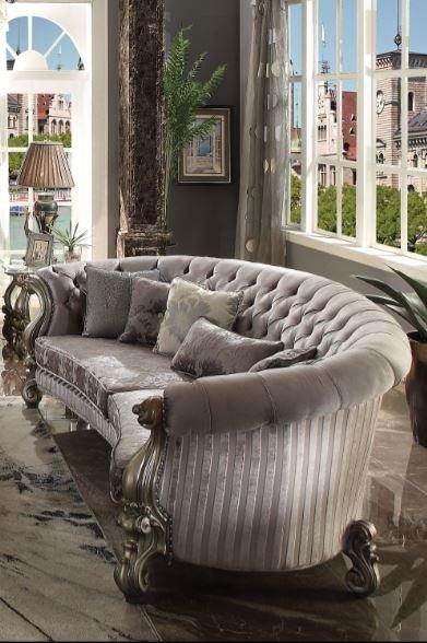 Astoria Grand Bermuda Curved Sofa | Wayfair