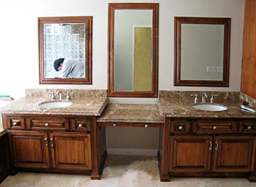 Bathroom Cabinets from Darryn's Custom Cabinets serving Los Angeles