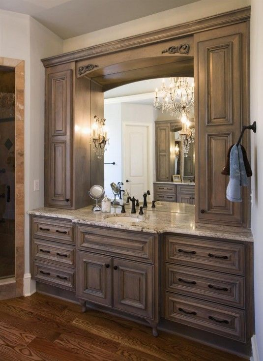 18 Savvy Bathroom Vanity Storage Ideas - Bathrooms Cabinets Ideas