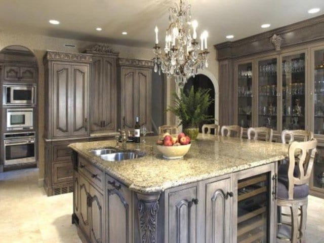 Houston-Custom-Kitchen-Cabinets-1-640x480 - Unique Builders