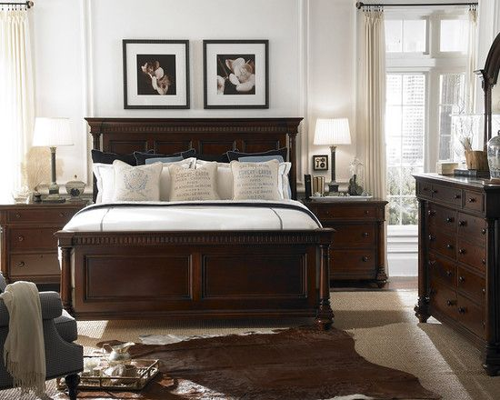 Bedroom Dark Brown Furniture Design, Pictures, Remodel, Decor and