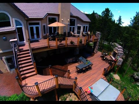 Outdoor Patio Deck Designs Ideas - YouTube