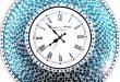 Decorative Mosaic Wall Clock, 22.5