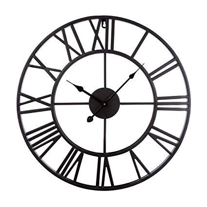 Amazon.com: XSHION Vintage Wall Clock, 20 Inch Wall Clocks Rustic
