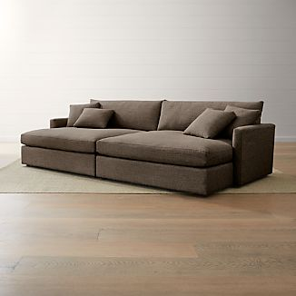 Deep Sectional Sofas | Crate and Barrel