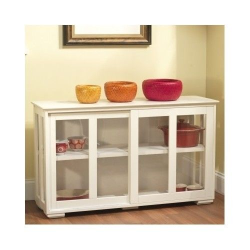 Kitchen Storage Cabinet Dining Hutch China Pantry Island Stackable