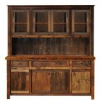 Dining hutch for smart storage