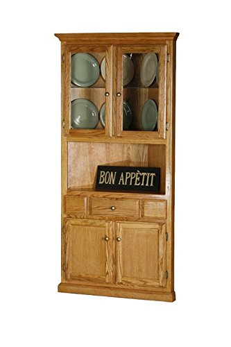 Amazon.com - Eagle Classic Oak Corner Dining Hutch/Buffet, Concord
