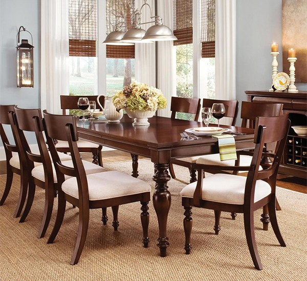 20+ Gorgeous Wooden Dining Table Chair Designs to Charm the Dining Area