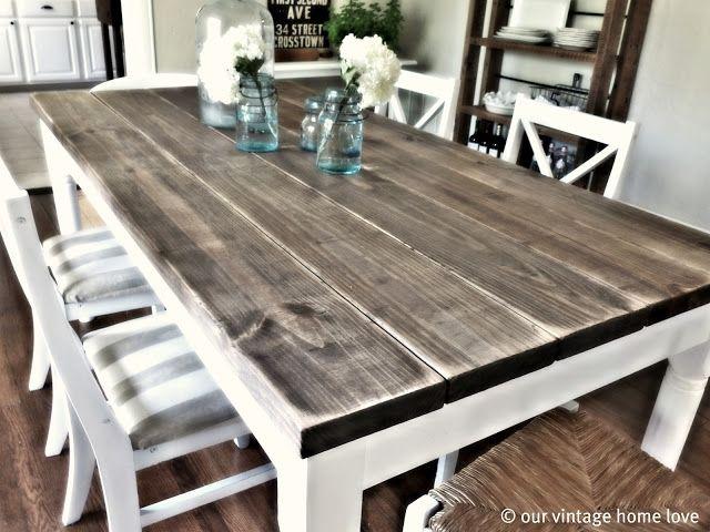 Vintage diy dining room set