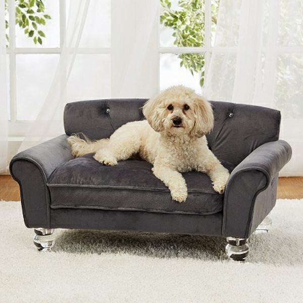 Velvet Luxury Dog Sofa Bed | La Joie