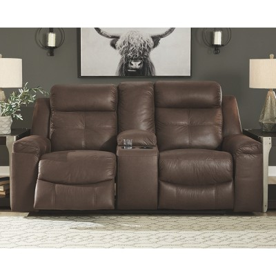 Jesolo Double Reclining Loveseat With Console - Signature Design By