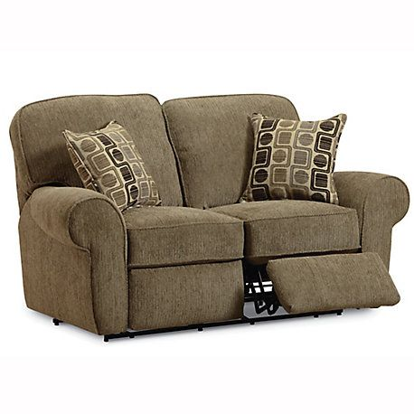 Lane Megan Double Reclining Loveseat - You Choose the Fabric | My