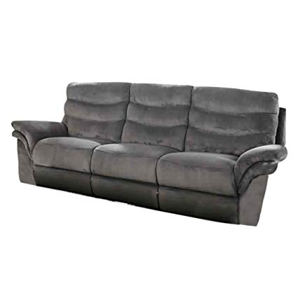 Amazon.com: Benzara BM177922 Flannelette Fabric Double Recliners