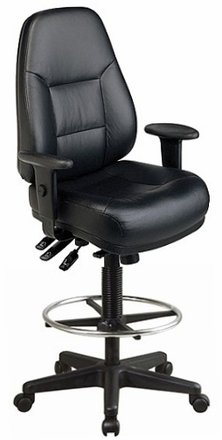 Amazon.com : Harwick Multi-Function Leather Drafting Chair