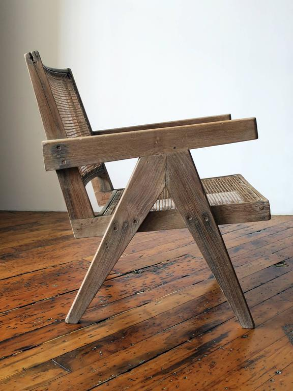 Pierre Jeanneret Easy Armchair, circa 1955 at 1stdibs