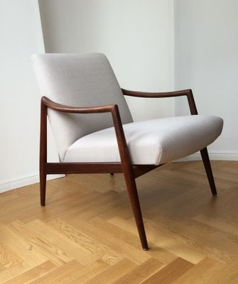 German Teak Easy Chair by Hartmut Lohmeyer for Wilkhahn, 1956 for