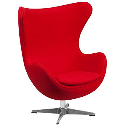 Amazon.com: Red Egg Chair -
