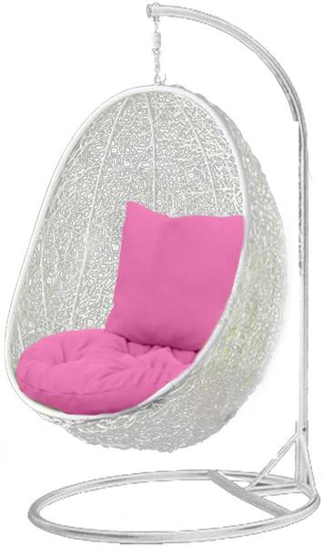 White Hanging Egg Chair - Pala Series | Hanging Out Australia