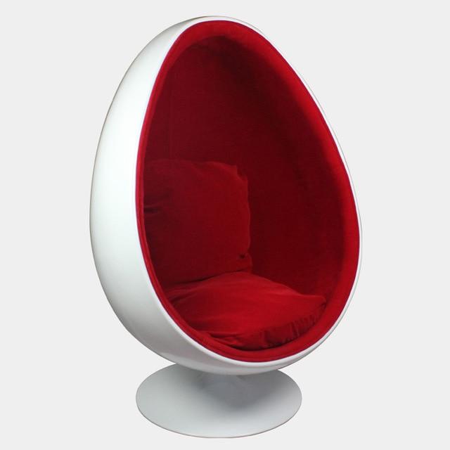 Egg chair eggshell egg shaped chair lounge chair chair fiberglass