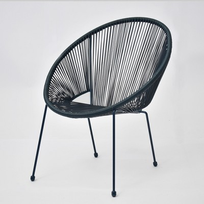 Fisher Stack Patio Egg Chair Blue - Project 62™ : Target