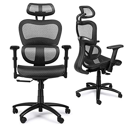 Amazon.com: Mysuntown Office Mesh Chair, Ergonomic Task Chair with