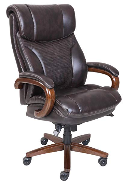 Amazon.com: La-Z-Boy Trafford Big & Tall Executive Bonded Leather