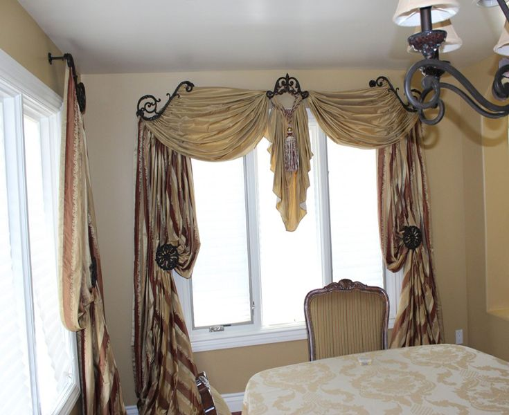 Exquisite drapery hardware from Galaxy in L.A. | Drapes ~ window