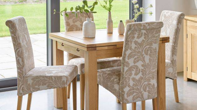 Fabric Dining Chairs | Upholstered Chairs | Oak Furnitureland