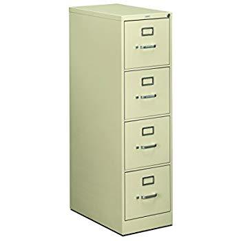 Amazon.com: HON 4-Drawer Filing Cabinet - 510 Series Full-Suspension
