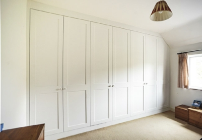 Enhance you bedroom with gorgeous fitted Wardrobes