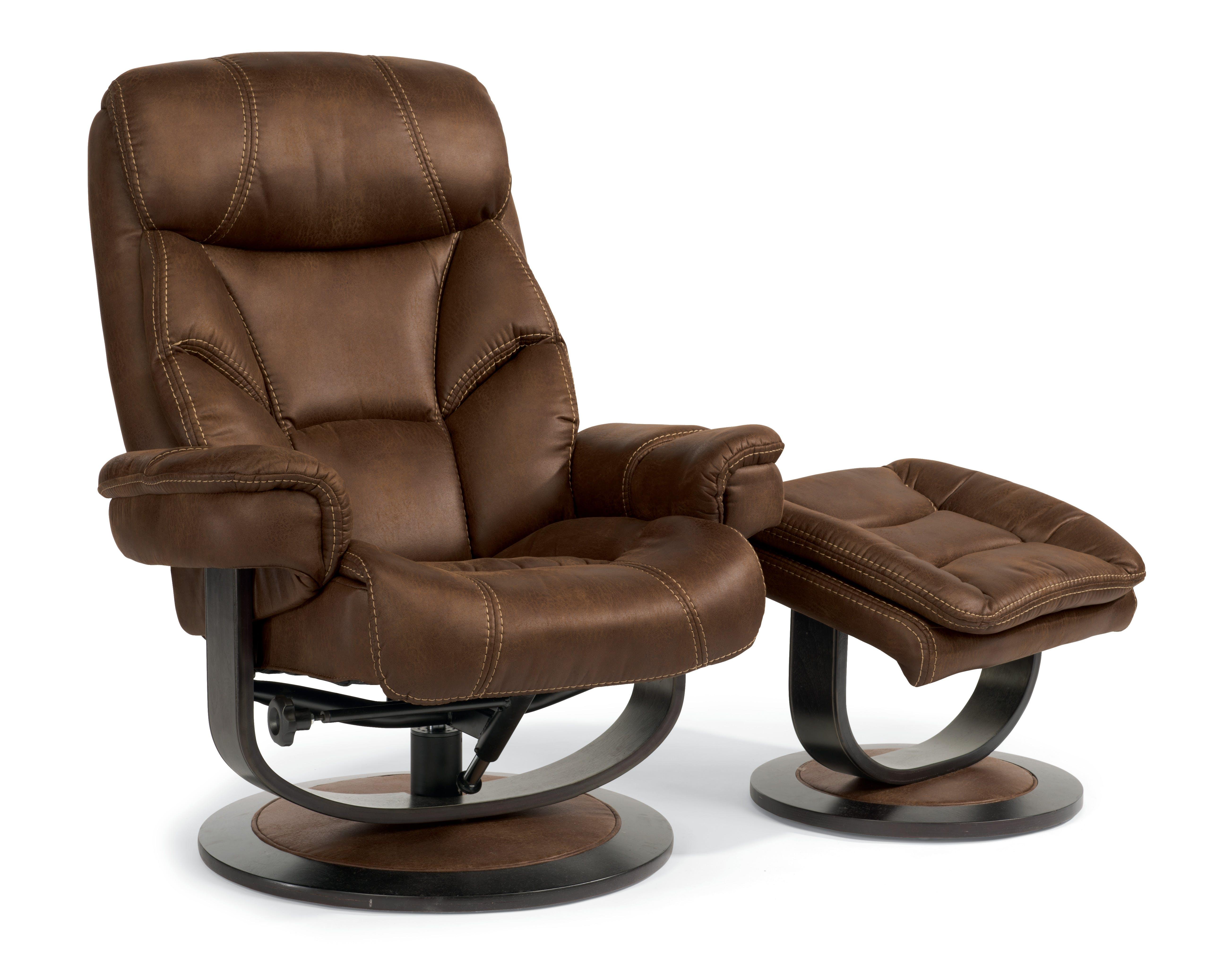 Flexsteel Recliner Chair and Ottoman 456870 - Talsma Furniture