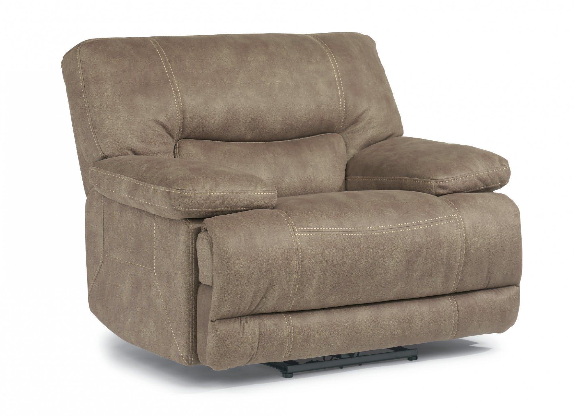 Flexsteel Living Room Fabric Power Recliner 1458-50P - Carol House