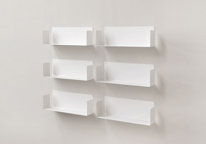 Floating wall shelves US 17,71 inch long - Set of 6