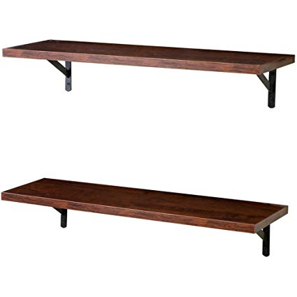 Amazon.com: SUPERJARE Wall Mounted Floating Shelves, Set of 2