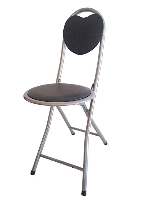 Amazon.com: DLUX Small Folding Chair Extra Padded Cushioned Seat For