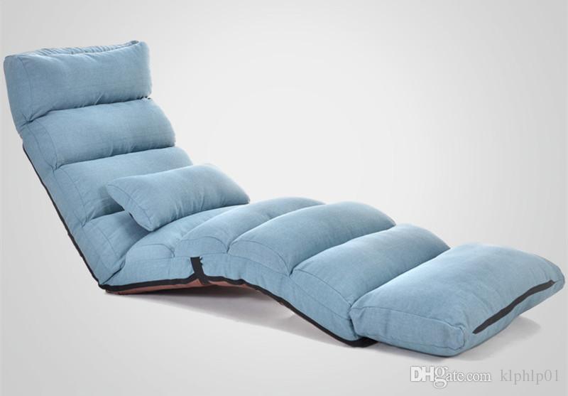 2019 Modern Foldable Reclining Floor Sofa Bed Living Room Furniture