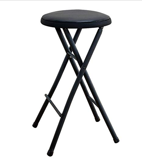Amazon.com: Black Folding Stool Chair 24