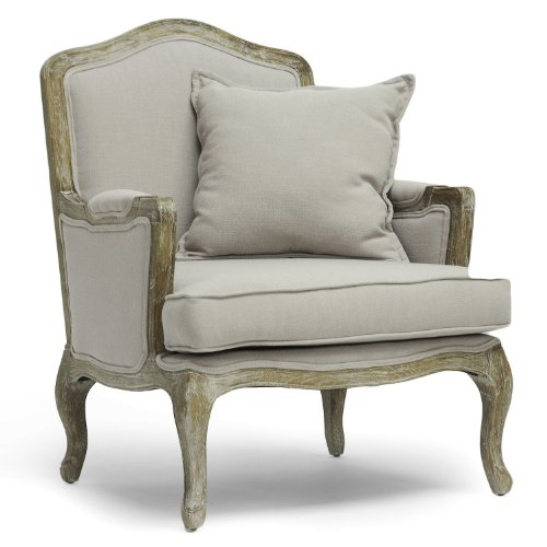 Amazon.com - Baxton Studio Constanza Classic Antiqued French Accent
