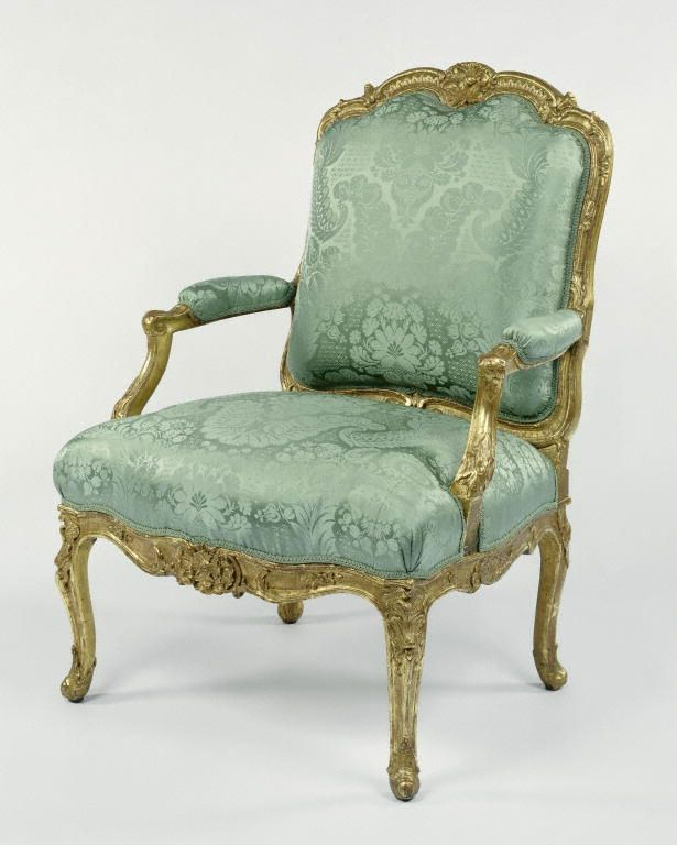1750-1755 French Armchair at the J. Paul Getty Museum, Los Angeles