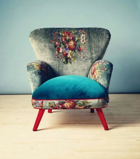 Funky Armchairs Gobelin Armchair Armchairs Etsy And Brick Colors
