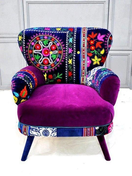 Uses of the funky arm chairs