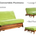 Futon loveseat for multipurpose