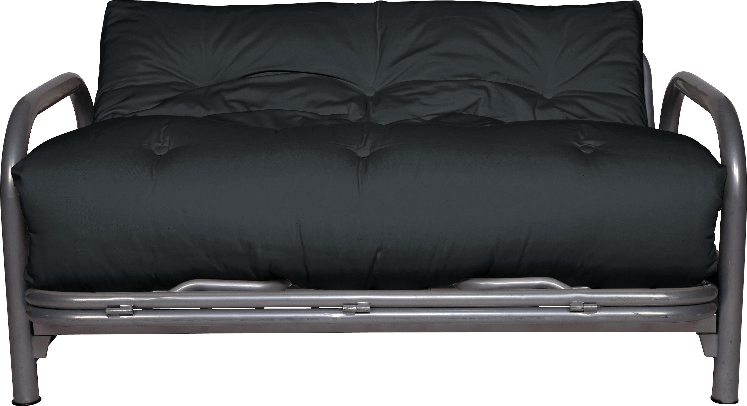 Buy Argos Home Mexico 2 Seater Futon Sofa Bed - Black | Sofa beds