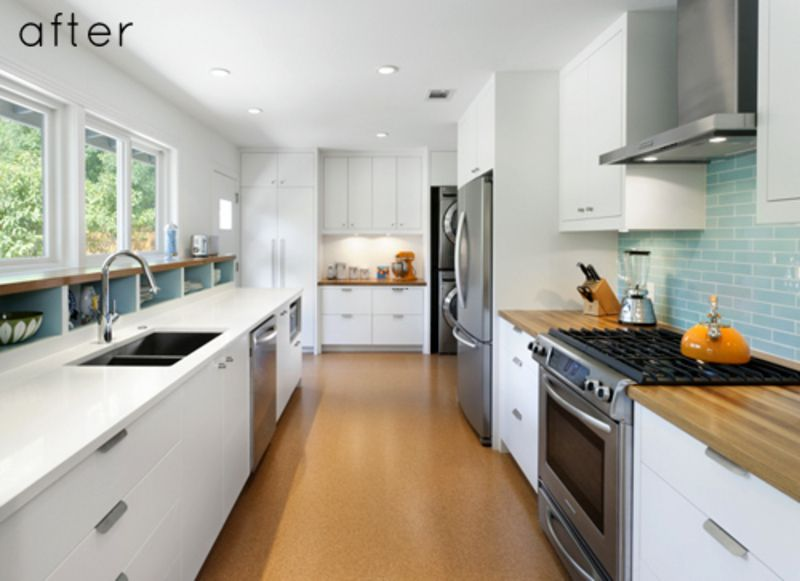 long narrow kitchen design | Galley Kitchen Designs, If I had a long