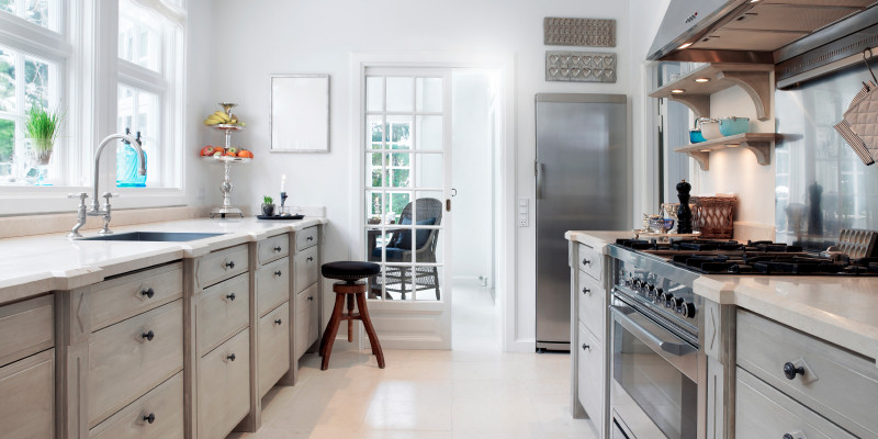 Galley Kitchen Remodeling Ideas | S.N. Peck Builder, Inc.