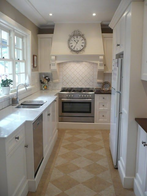 Classic Galley kitchen remodel before and after (5) | My kitchen