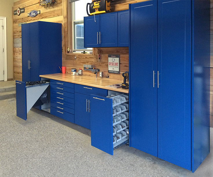Most Extensive Line of Garage Cabinets | RedLine Garagegear