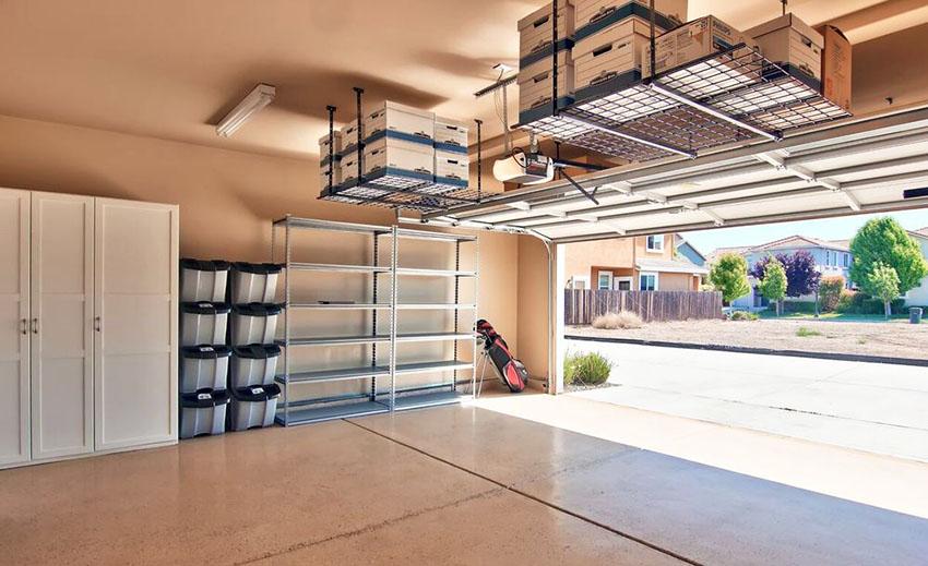 Garage Storage Ideas (Cabinets, Racks & Overhead Designs