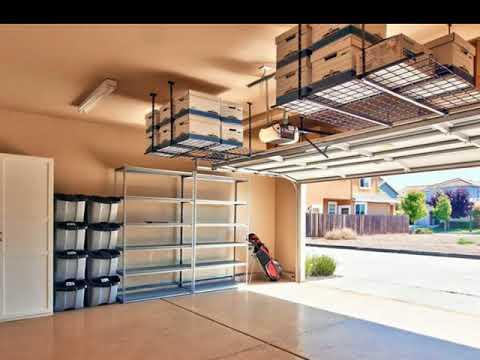 Garage Storage Ideas Roof - Garage ceiling storage ideas - YouTube